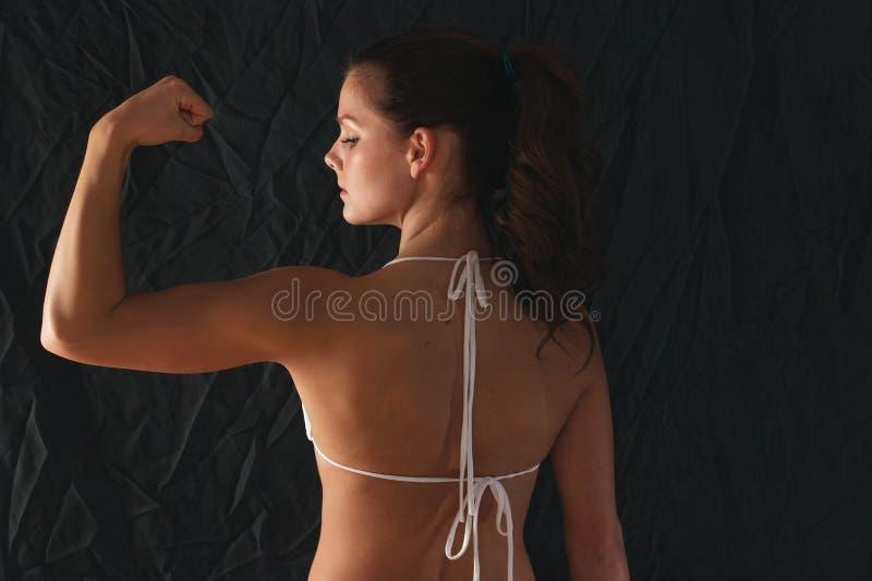 Posa 4 di forma fisica immagini stock libere da diritti
