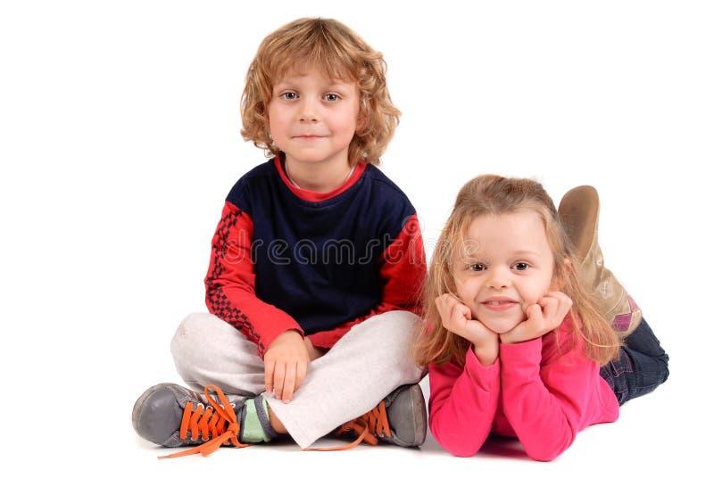 Posa dei bambini immagine stock libera da diritti