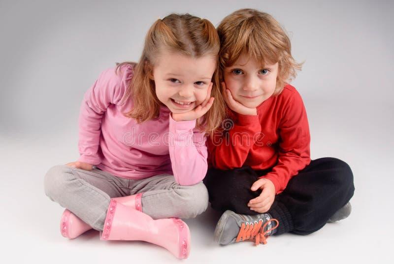 Posa dei bambini fotografie stock libere da diritti