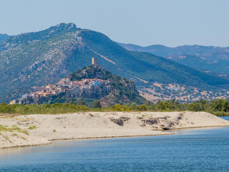 Posada, Italie image libre de droits