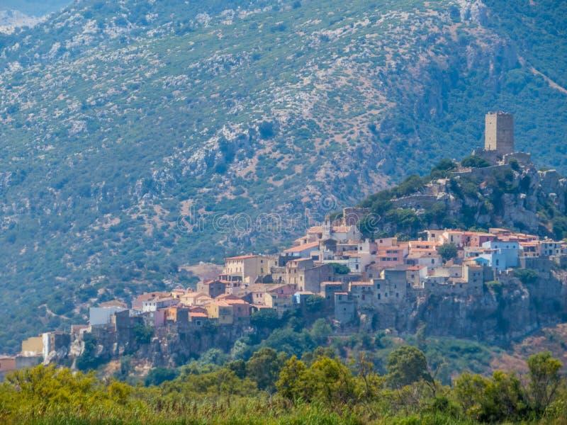 Posada, Italie image stock