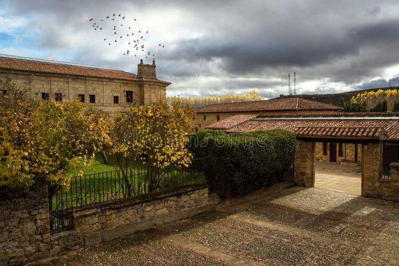 Posada Santa Maria La Real royalty free stock photos