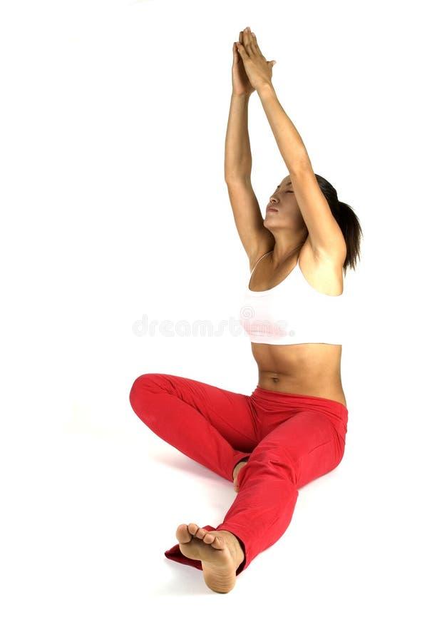 Pose da ioga fotos de stock royalty free