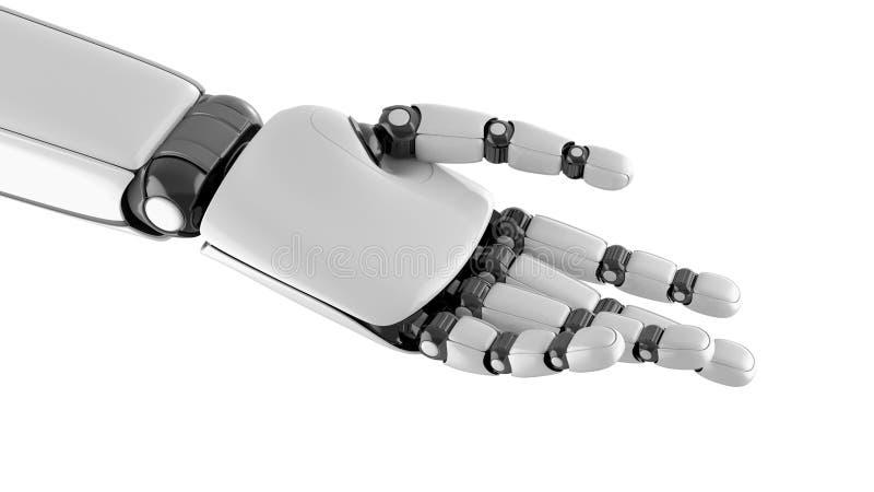 Pose da mão do robô ilustração stock