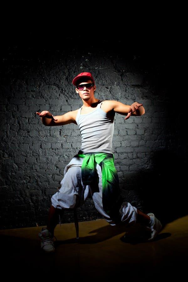 Pose de danseur photo stock