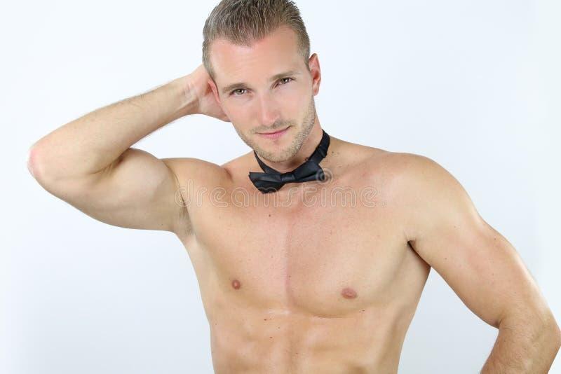 Pose sexy de strip-teaseuse photos libres de droits