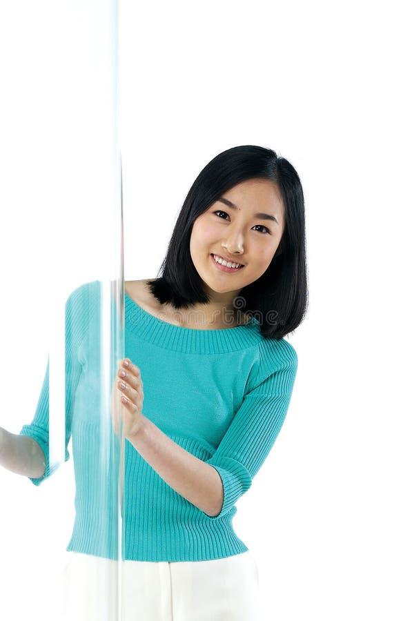 Pose - Woman stock photography