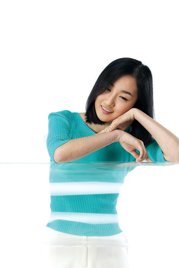 Pose - Woman stock images