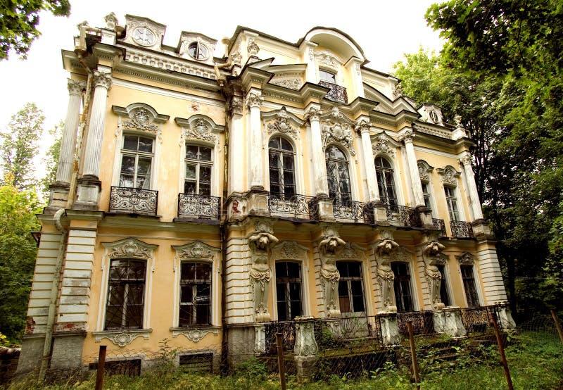 Poseer la residencia del verano de tsar ruso fotografía de archivo libre de regalías