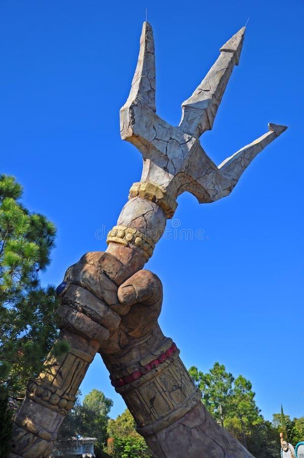 Poseidon' s Woede in Universeel Orlando, de V.S. stock foto