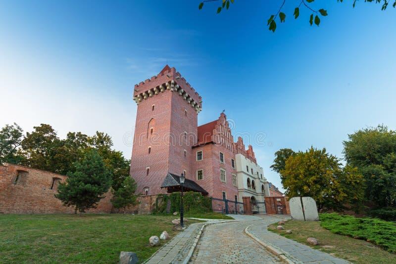Posen, Polen - 8. September 2018: Das Königliche Schloss in der Altstadt von Poznan, Polen stockbilder