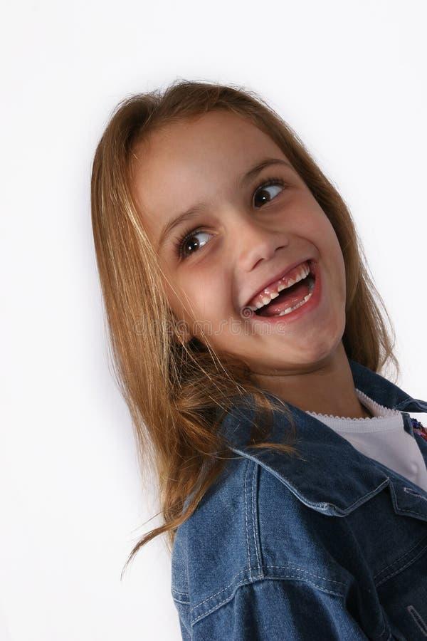 posera barn för flicka royaltyfria bilder