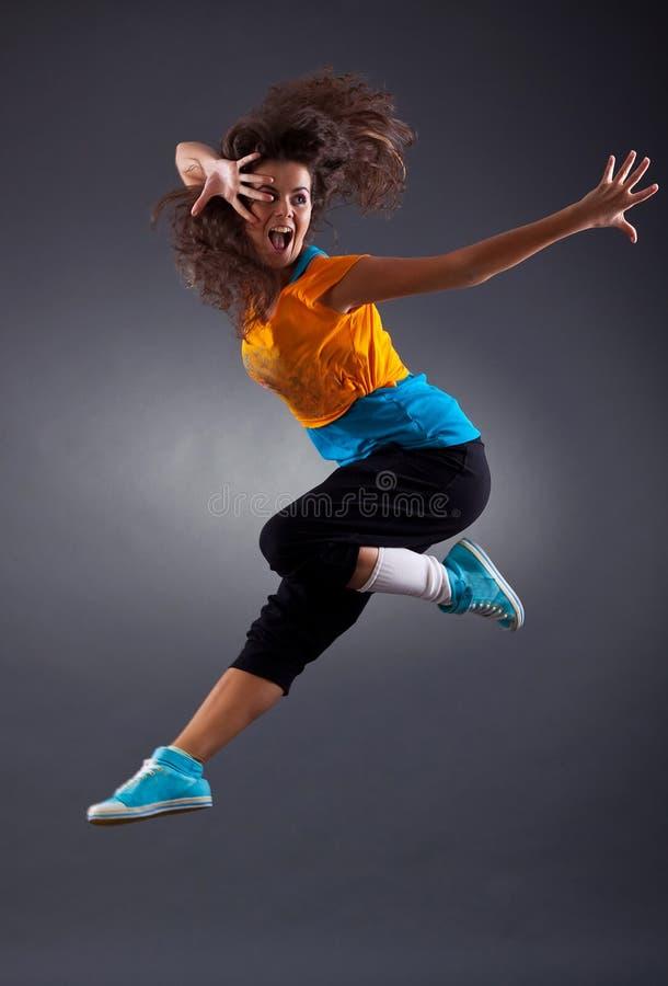 posera för dansare fotografering för bildbyråer