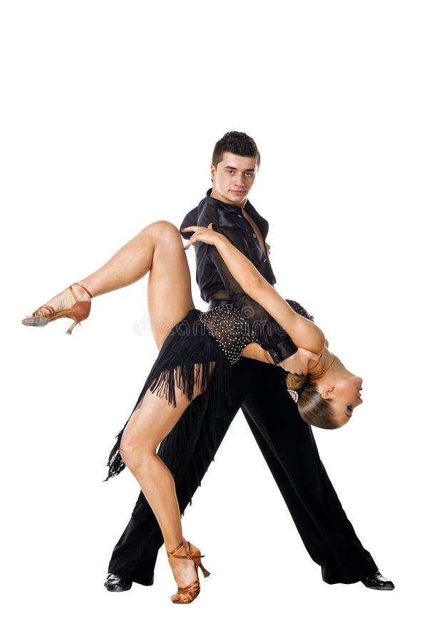 posera för dansarelatino royaltyfri bild