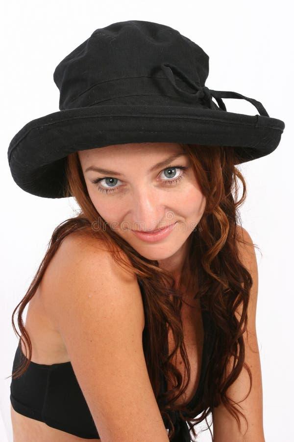 posera kvinna arkivfoto