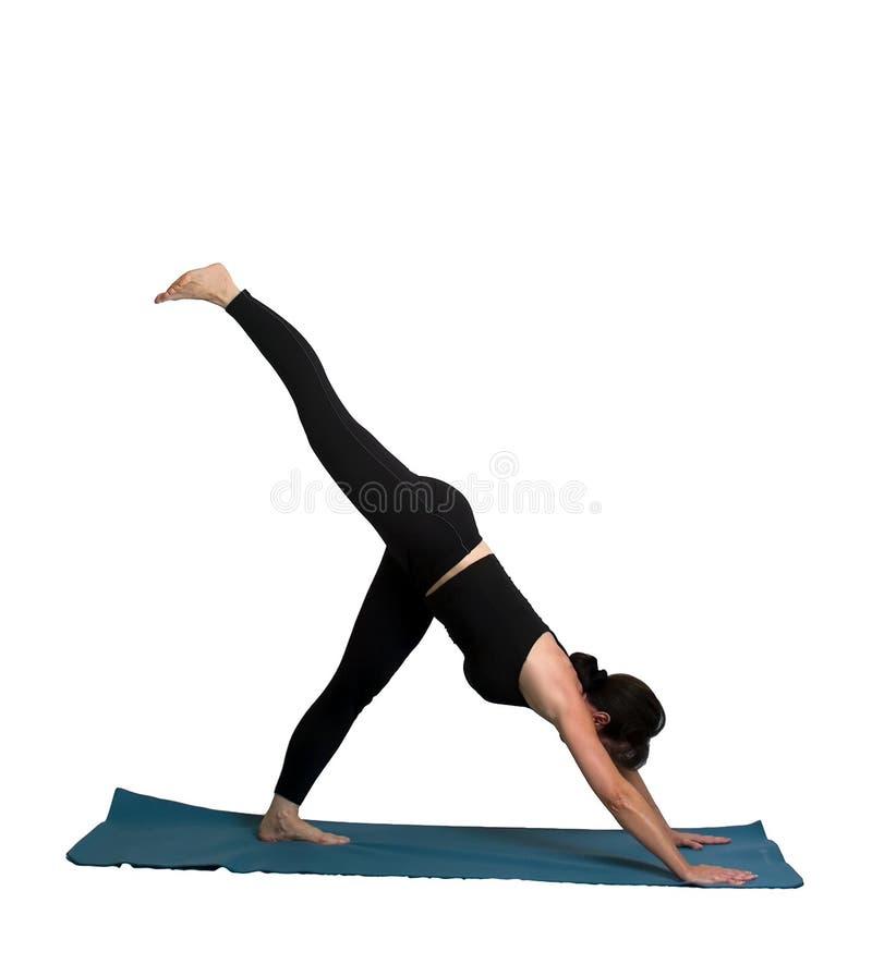 poserar yoga arkivbilder