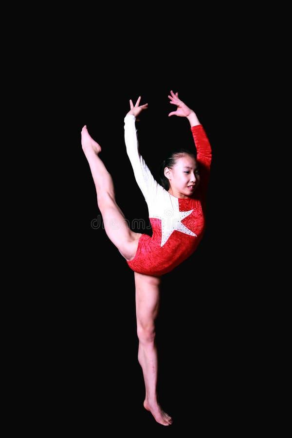 Poses de gymnastique photos stock