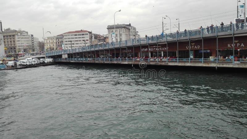 Posfor di Costantinopoli, inverno del mare, tacchino fotografia stock libera da diritti