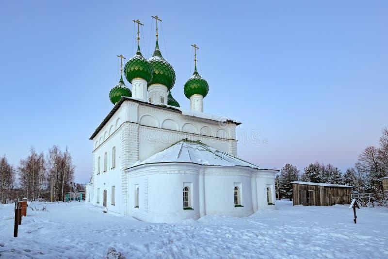 Poshekhonye liten stad, Yaroslavl region, Ryssland fotografering för bildbyråer