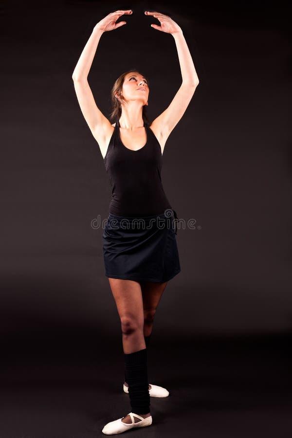 Posição da bailarina quinta fotos de stock