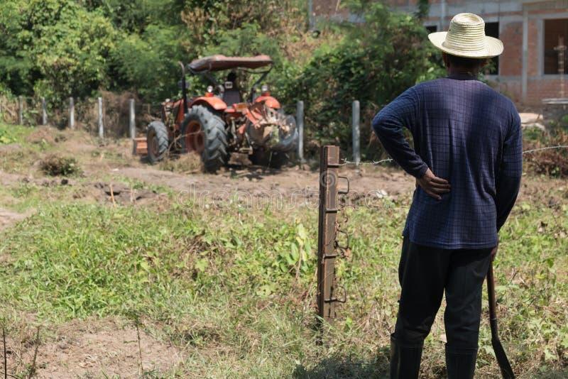 posição do fazendeiro fotografia de stock royalty free