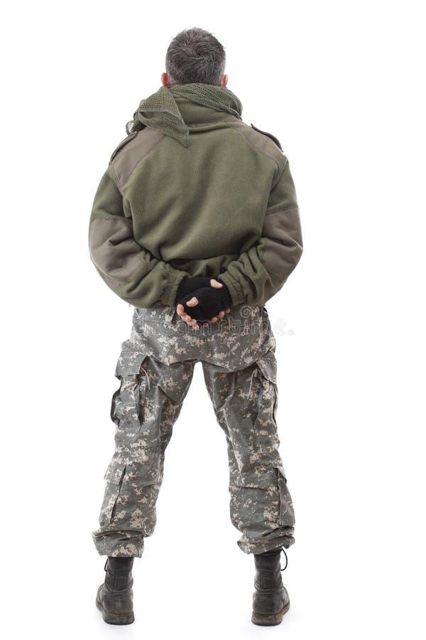 Posição do terrorista fotografia de stock