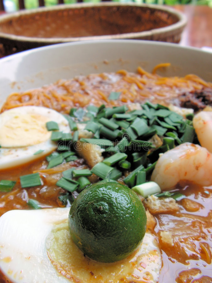 posiłek azjatykci mee Siam fotografia royalty free