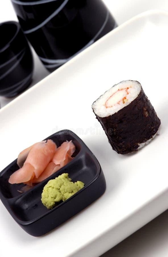 posiłek jedzenie sushi zdjęcia stock