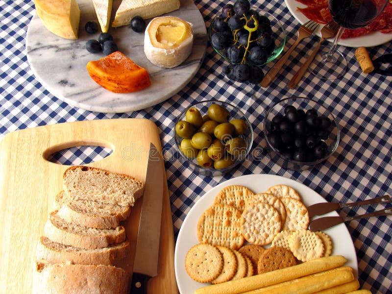 posiłek morza Śródziemnego zdjęcia stock