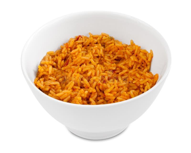 posiłek przygotowywający ryż zdjęcie stock