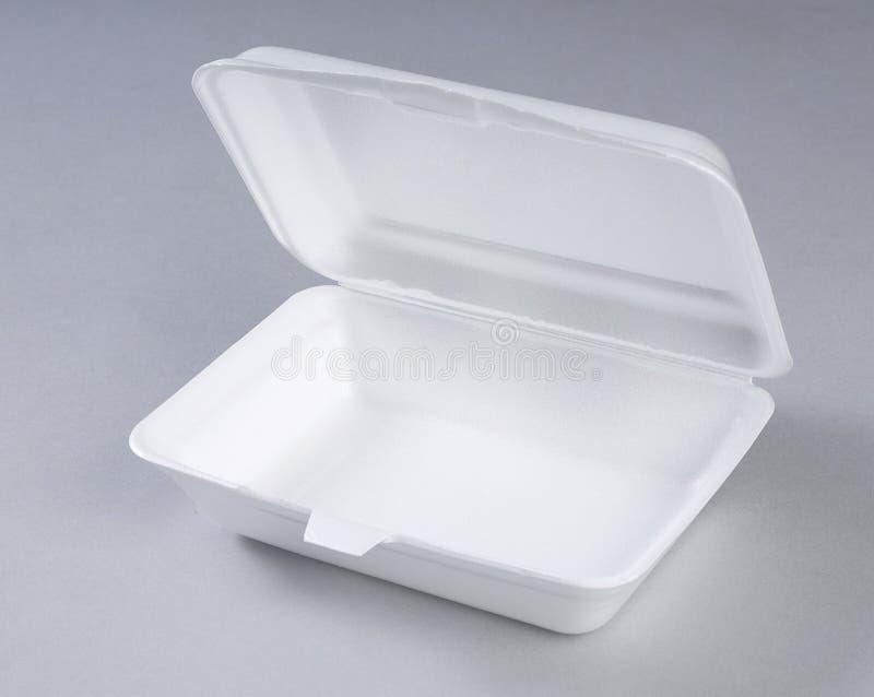 posiłku pudełkowaty styrofoam zdjęcia royalty free