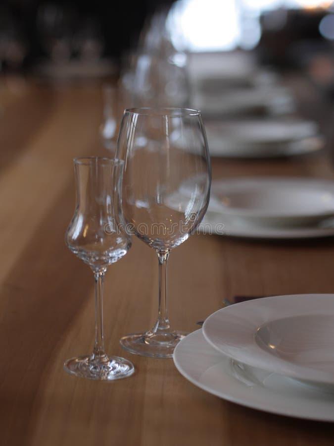posiłku setu stół zdjęcie royalty free