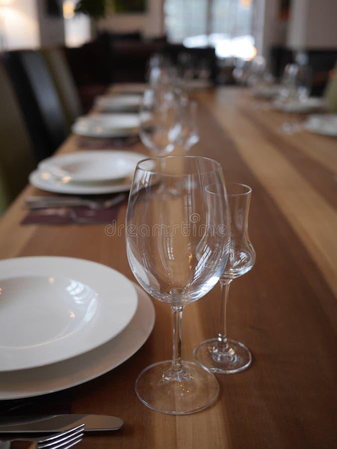 posiłku setu stół obraz royalty free
