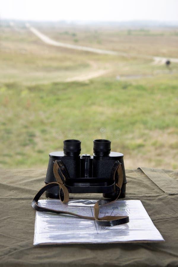 Posición del comandante imagen de archivo