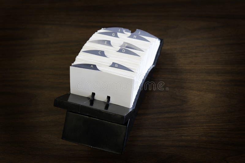Posicione cartões para contatos comerciais e comunicação foto de stock royalty free