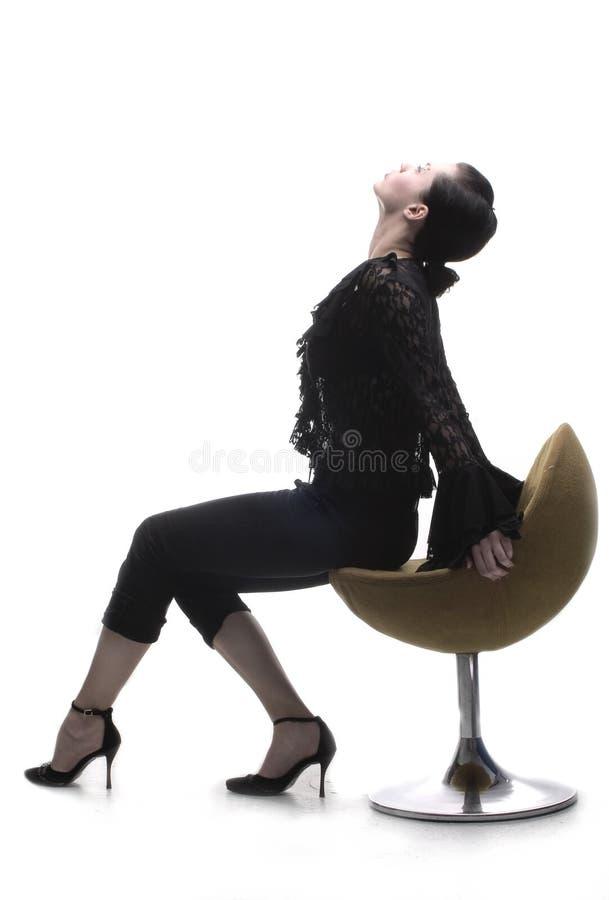 posiedzenie krzesła obrazy royalty free