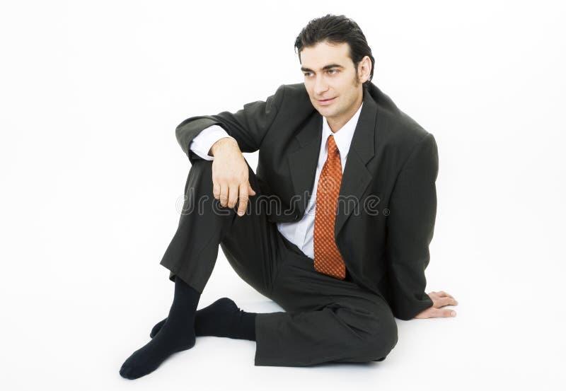 posiedzenie piętra zdjęcia stock