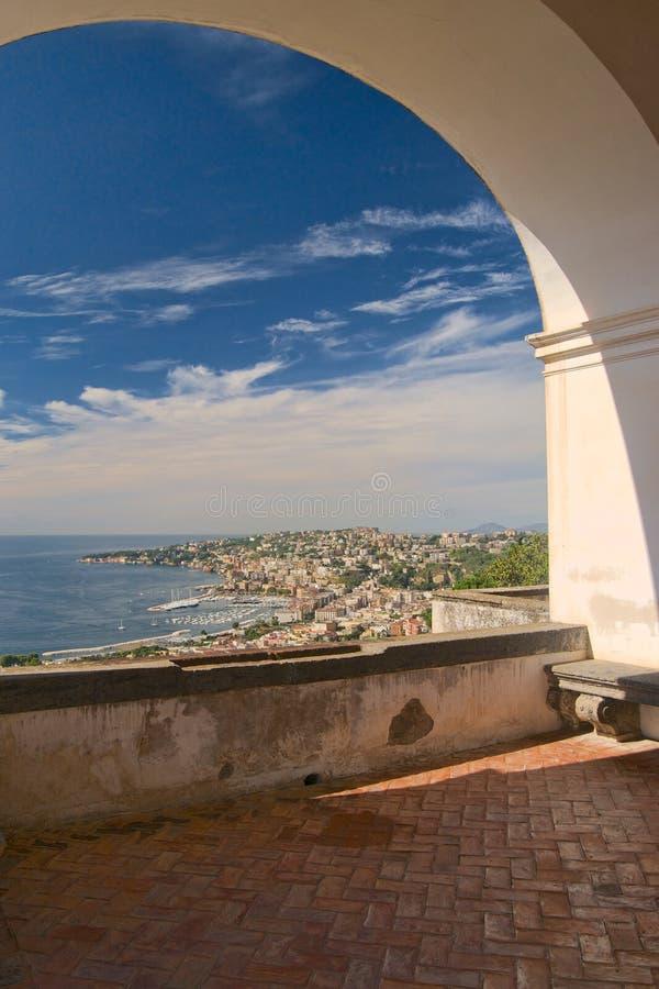 Posillipo, Naples, Italy royalty free stock photos