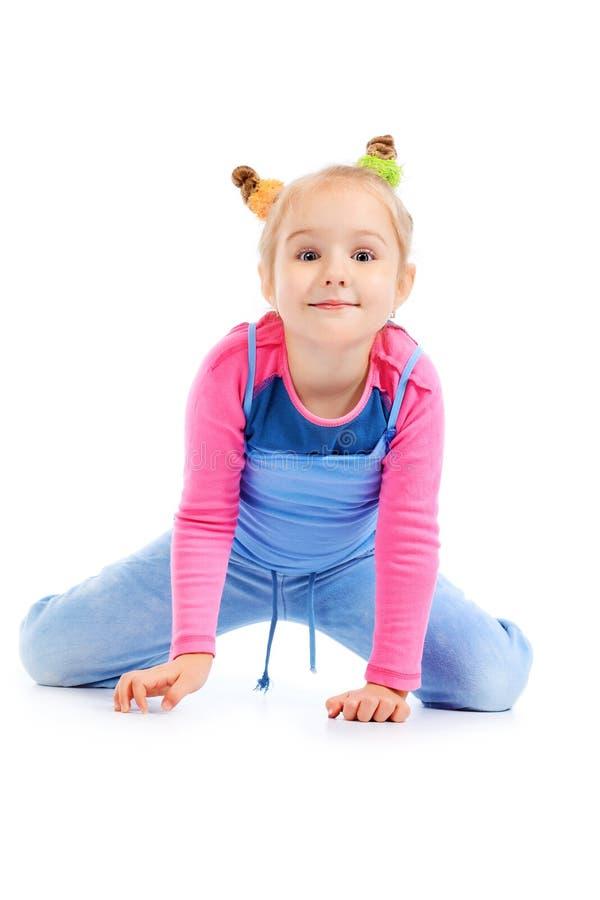Posing girl royalty free stock image