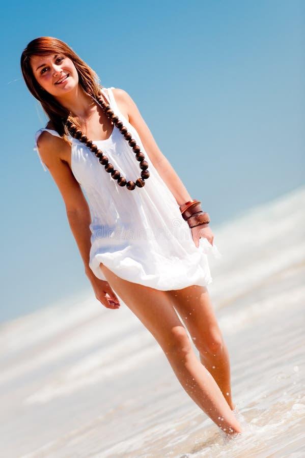 Free Posing On The Beach Royalty Free Stock Photos - 7617148