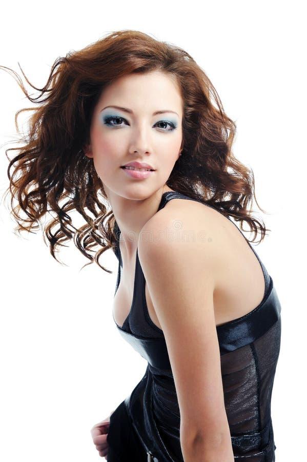 posing pretty woman young στοκ εικόνα