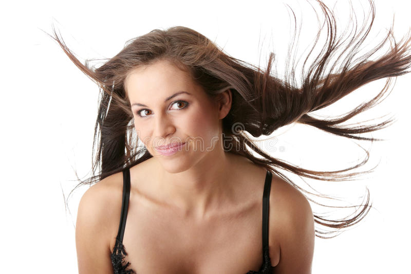 Download Posing with wind stock photo. Image of female, adult - 11249708