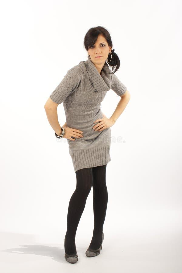 Posing woman