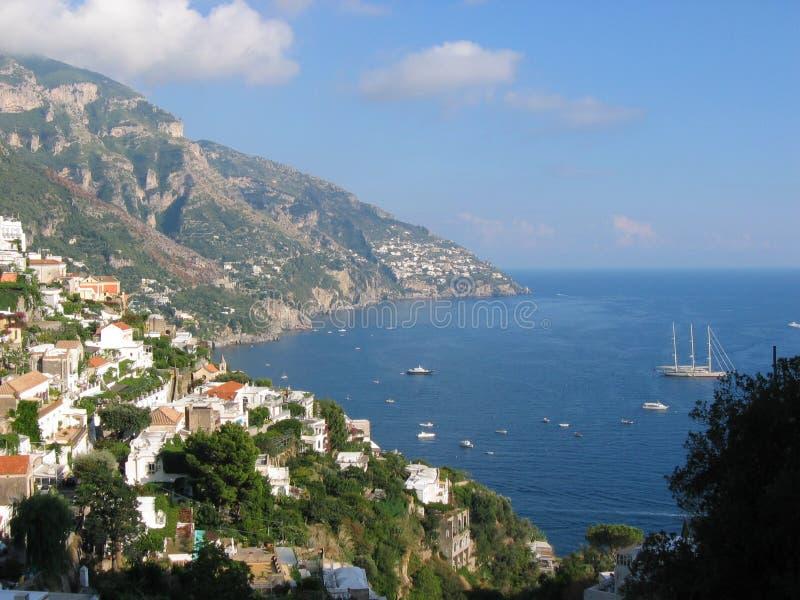 positano της Ιταλίας στοκ φωτογραφίες με δικαίωμα ελεύθερης χρήσης
