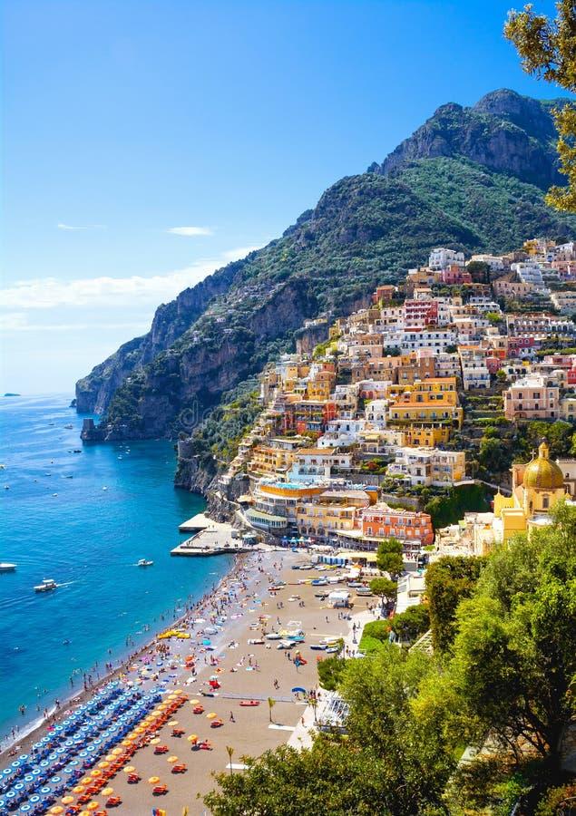 positano Италии стоковая фотография rf