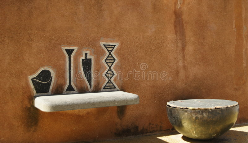 positano мозаики стоковые фото