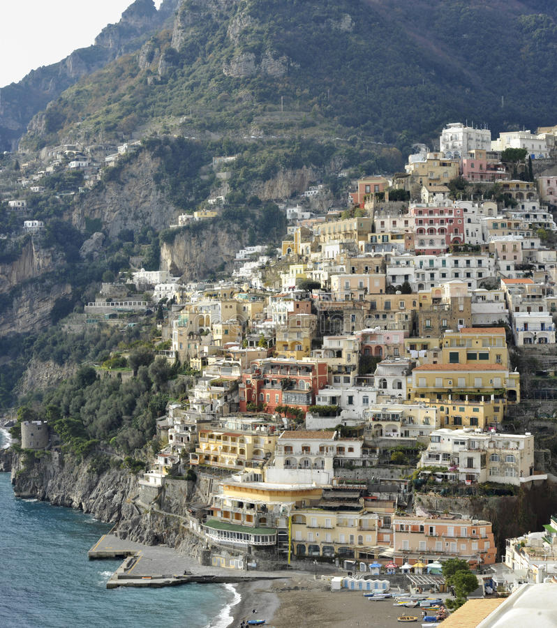 Download Positano stock photo. Image of italy, holiday, history - 23099594