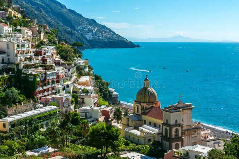 Positano Amalfitana, Italia fotos de archivo