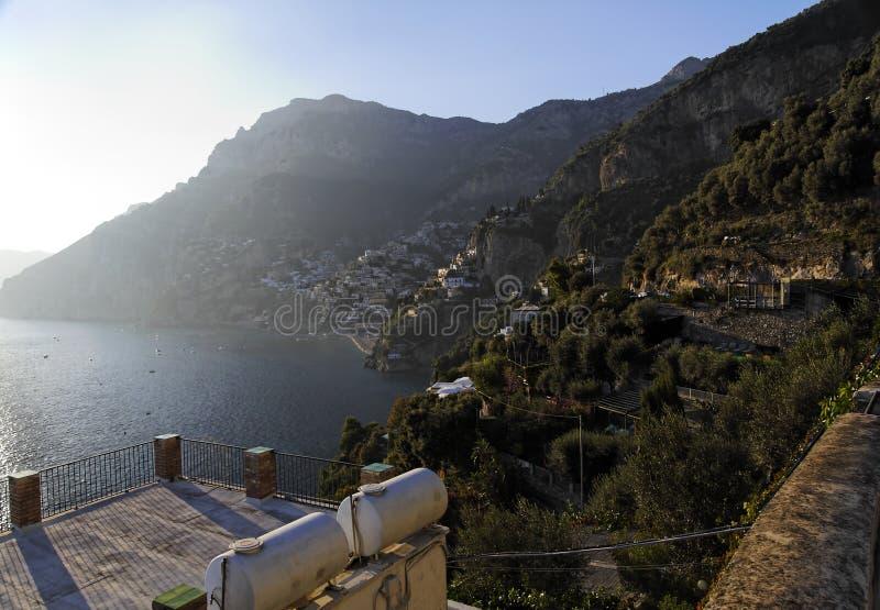 Positano - côte d'Amalfi photos stock