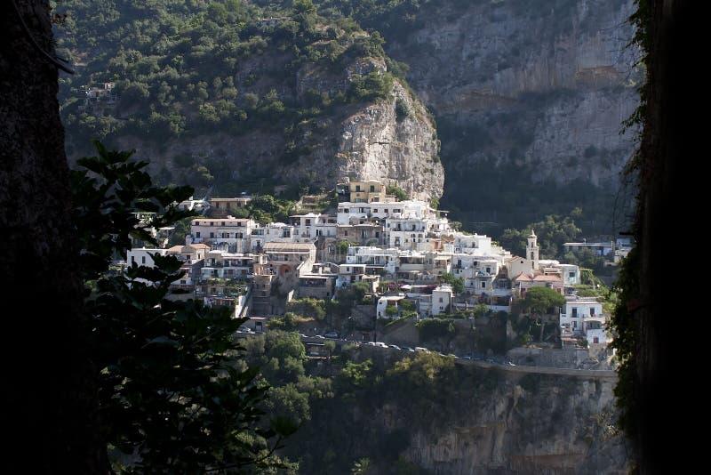 Positano - costa de Amalfi imagem de stock royalty free